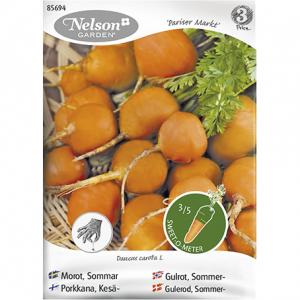семена моркови круглой из Финляндии